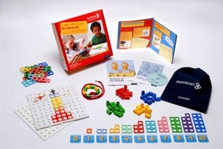 1st Steps with Numicon at Home Book/Bundle Kit