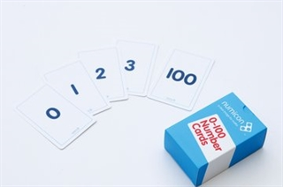 Number cards 0-100