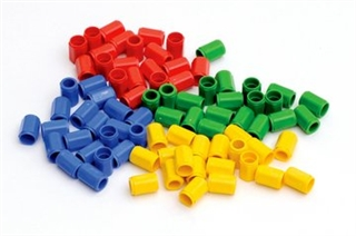Coloured Pegs - 80 stk.