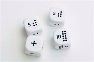 Set of 4 Numicon Dice